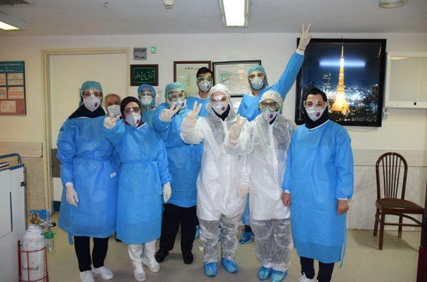 گزارش تصویری از بخش های قرنطینه بیماران کرونایی در بیمارستان امام رضا (ع)تبریز