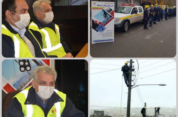 بهینه سازی بیش از ۴۰ کیلومتر شبکه و رفع ضعف ولتاژ ۲۵۱۲ مشترک بخش های مختلف، توسط شرکت توزیع نیروی برق آذربایجان شرقی