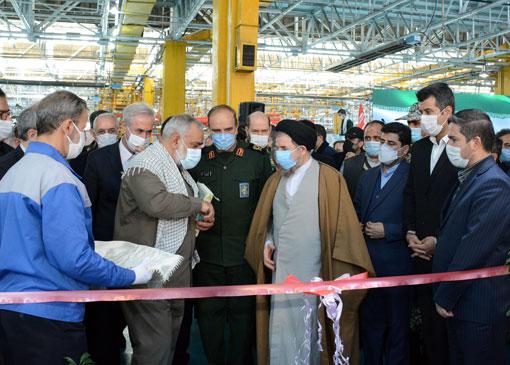 خط تولید دو تراکتور جدید در کارخانه تراکتورسازی تبریز- ایران افتتاح شد
