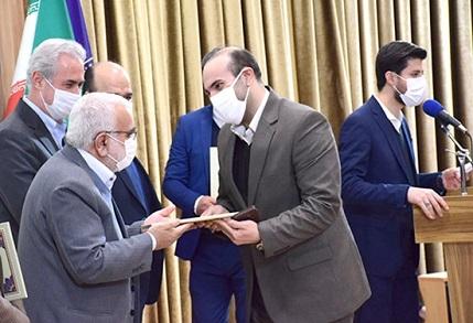 تقدیر رئیس کمیته امداد امام خمینی (ره) کشور از مدیر کل دامپزشکی استان