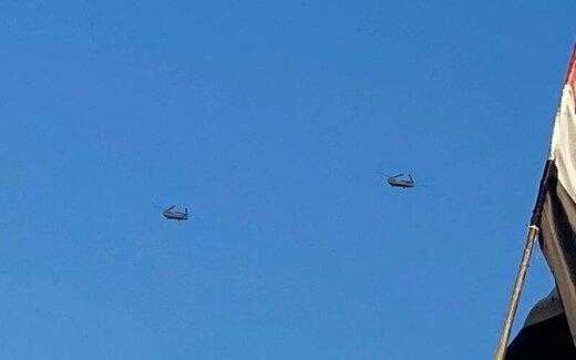 نمایش بیسابقه جنگندههای آمریکایی در آسمان عراق