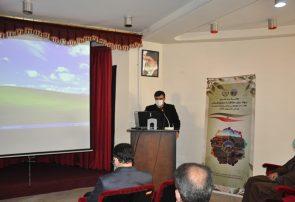 مراسم گرامیداشت هفته منابع طبیعی و روز پژوهش در مرکز تحقیقات و آموزش کشاورزی و منابع طبیعی آذربایجان شرقی برگزار شد