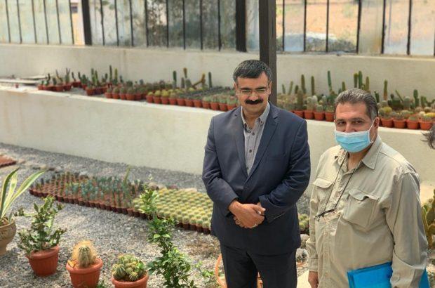 بازدید دکتر شریف نسب رئیس گروه فنی و مهندسی از پروژه ها و ماشین آلات مرکز تحقیقات و آموزش کشاورزی ومنابع طبیعی استان آذربایجانشرقی