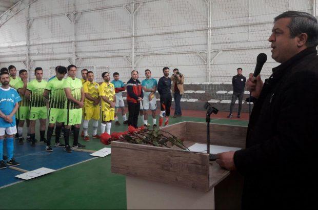 گزارش تصویری ازافتتاحیه پنجمین دوره مسابقات فوتسال پاکبانان شهرداری تبریز