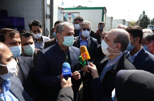بازدید سرزده وزیر جهاد کشاورزی از بازار مرغ در میادین پیروزی و بهمن
